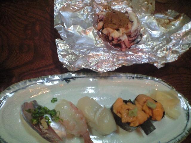 苗場で初めてのお寿司⭐️しらかば_c0151965_14544416.jpg