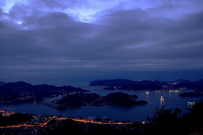 鳴滝山から西方を望む_c0152379_6244299.jpg
