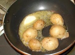 新ジャガと豚肉の味噌バター炒め(うちごはん)  2008年3月30日_d0083265_22493591.jpg