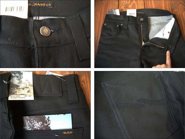 nudie jeans/ヌーディージーンズ slim jim [dry black coated]_f0051306_0574885.jpg