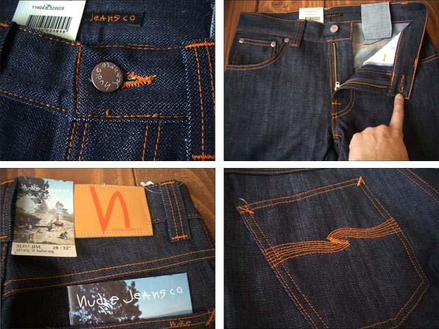 nudie jeans/ヌーディージーンズ slim jim  dry broken twill_f0051306_1243977.jpg