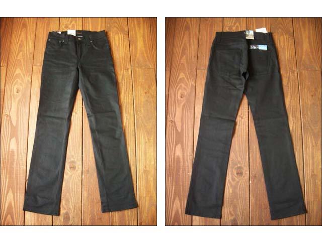 nudie jeans/ヌーディージーンズ slim jim [dry black coated]_f0051306_1343015.jpg
