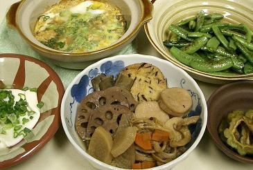 自家製干し野菜の煮物。_c0119140_13314279.jpg