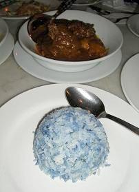 オールドチャイナカフェで青い米_c0030645_2131173.jpg