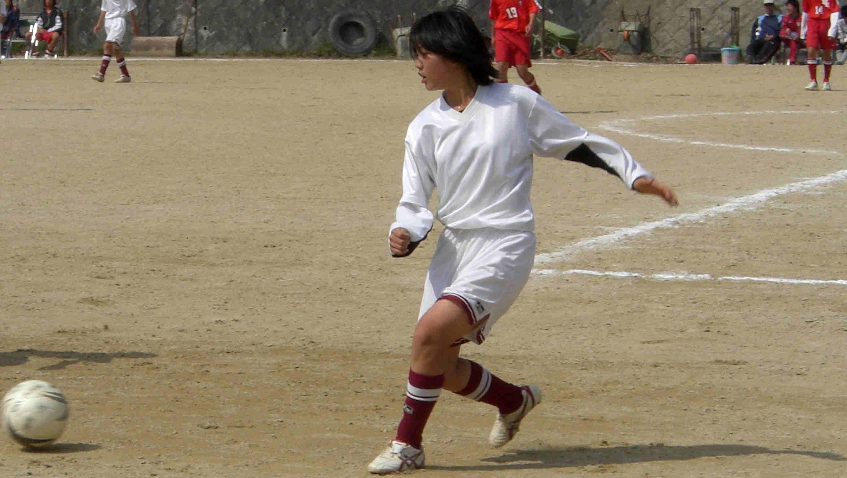 3月29日 娘のサッカー観戦_a0023466_9204231.jpg