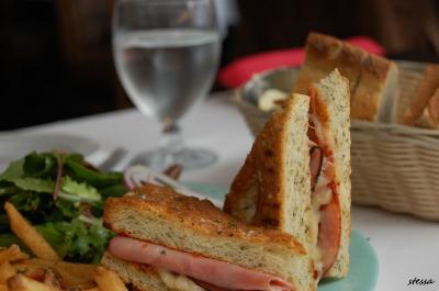 ギャスタウンのカフェでランチ。「WATER ST. CAFE」_d0129786_1453840.jpg