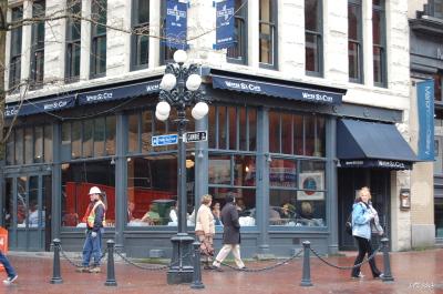 ギャスタウンのカフェでランチ。「WATER ST. CAFE」_d0129786_153669.jpg