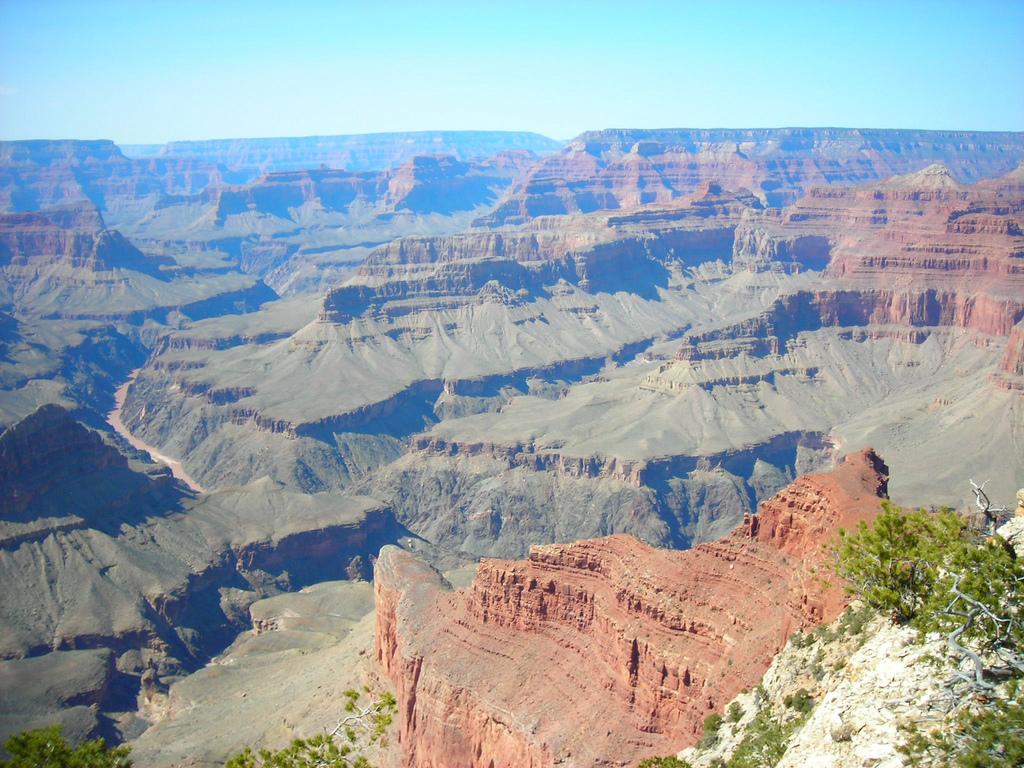 衛星から見た地球で最大の峡谷グランド・キャニオン_d0063814_10324646.jpg