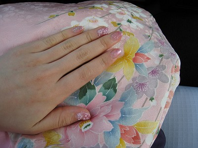 桜ネイル_e0139694_22323672.jpg