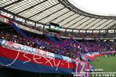 東京ダービー FC東京ゴール裏