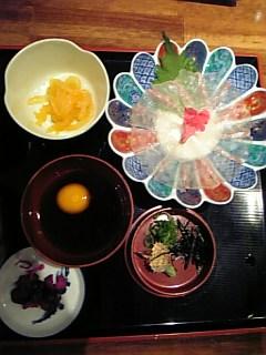 郷土料理「鯛めし」を食べました♪_f0099147_20195825.jpg