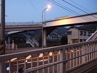 歩道橋の上から・⑱ 小浦歩道橋・その1_b0095061_1052864.jpg