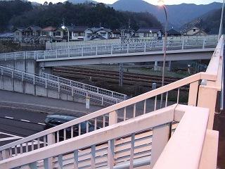 歩道橋の上から・⑱ 小浦歩道橋・その1_b0095061_1064060.jpg