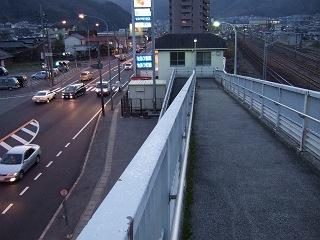 歩道橋の上から・⑱ 小浦歩道橋・その1_b0095061_1092770.jpg