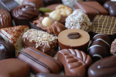 ベルナルド・カラボーのチョコレート Bernard Callebaut_d0129786_15403390.jpg