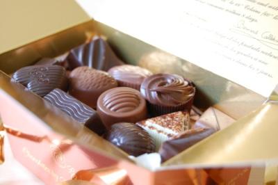ベルナルド・カラボーのチョコレート Bernard Callebaut_d0129786_15482790.jpg