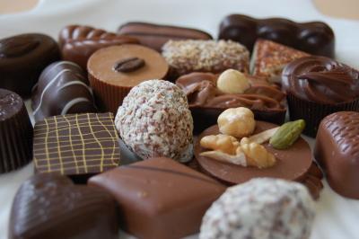 ベルナルド・カラボーのチョコレート Bernard Callebaut_d0129786_15495669.jpg