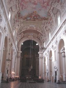 美しい天井画を発見~カルミネ教会ブランカッチ礼拝堂_f0106597_2116203.jpg