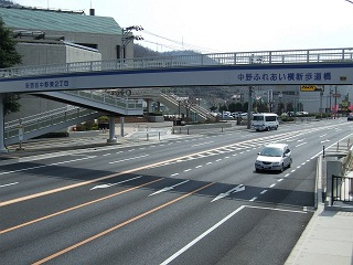 歩道橋の上から・⑲ 中野ふれあい横断歩道橋・その1 _b0095061_10292491.jpg