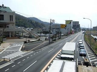 歩道橋の上から・⑲ 中野ふれあい横断歩道橋・その1 _b0095061_10334561.jpg