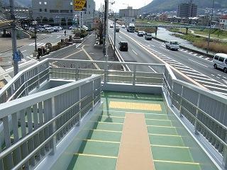 歩道橋の上から・⑲ 中野ふれあい横断歩道橋・その1 _b0095061_10351598.jpg