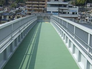 歩道橋の上から・⑲ 中野ふれあい横断歩道橋・その2_b0095061_10383499.jpg
