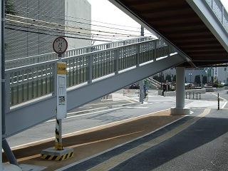 歩道橋の上から・⑲ 中野ふれあい横断歩道橋・その2_b0095061_10391718.jpg