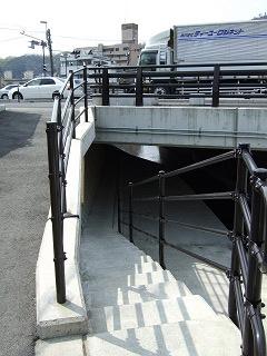 歩道橋の上から・⑲ 中野ふれあい横断歩道橋・その2_b0095061_10405879.jpg