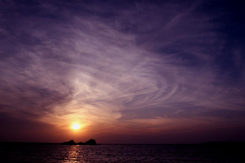 壁島の夕景_d0074828_23402954.jpg