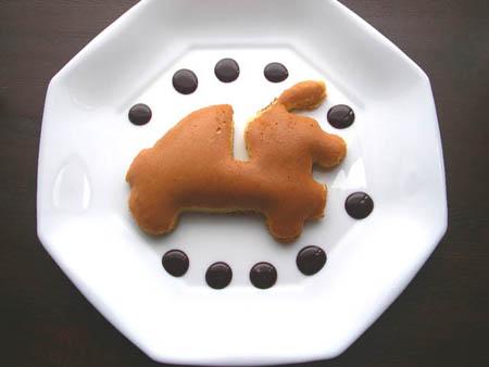 ミゼット型ホットケーキ