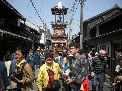 第四回犬山祭り曳き山車巡航_f0065444_1434049.jpg