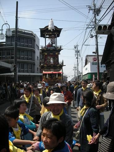 第四回犬山祭り曳き山車巡航_f0065444_14364090.jpg