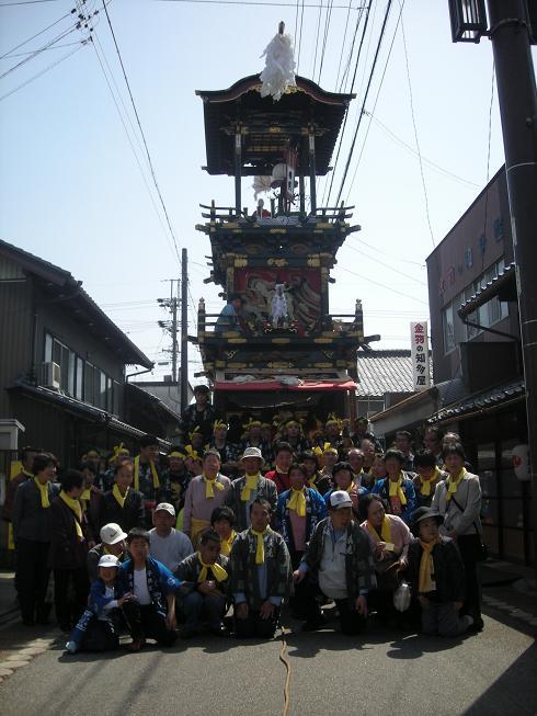 第四回犬山祭り曳き山車巡航_f0065444_14395645.jpg