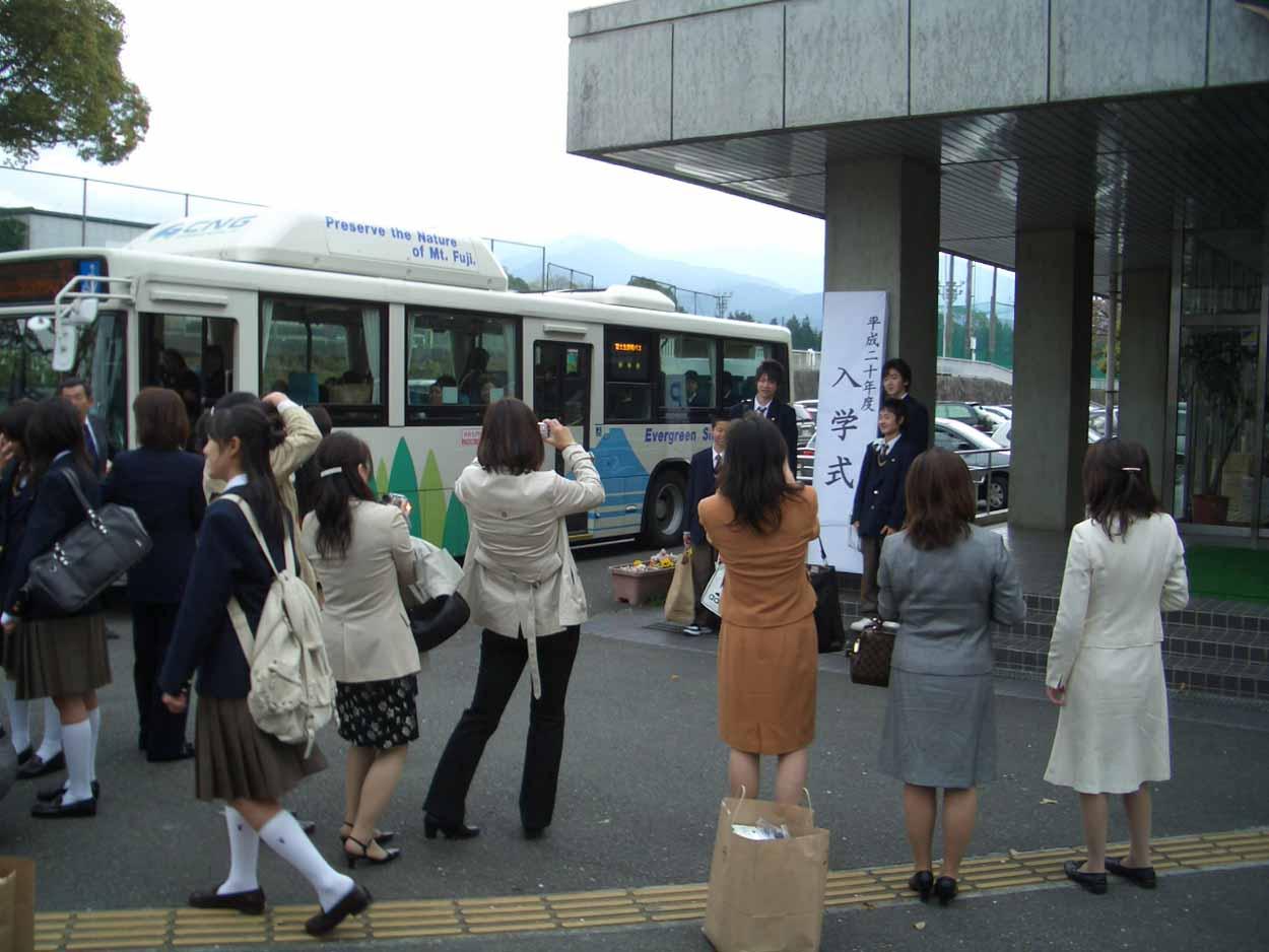 自転車道 埼玉県 自転車道 整備 : 今年4つめの入学式、富士東高 ...
