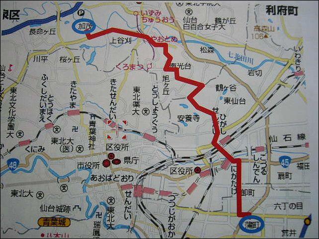 私の通勤経路図 : お達者スキー ...