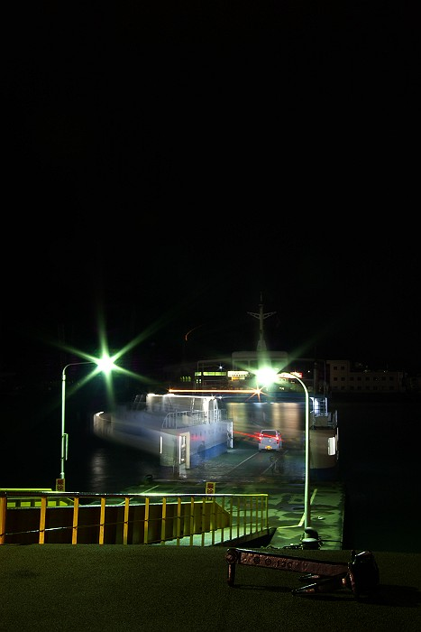 尾道水道 渡船光の舞_c0152379_62333100.jpg
