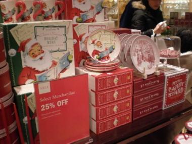 クリスマス・イブの街の風景&ウイリアムズ・ソノマ_d0129786_18412366.jpg