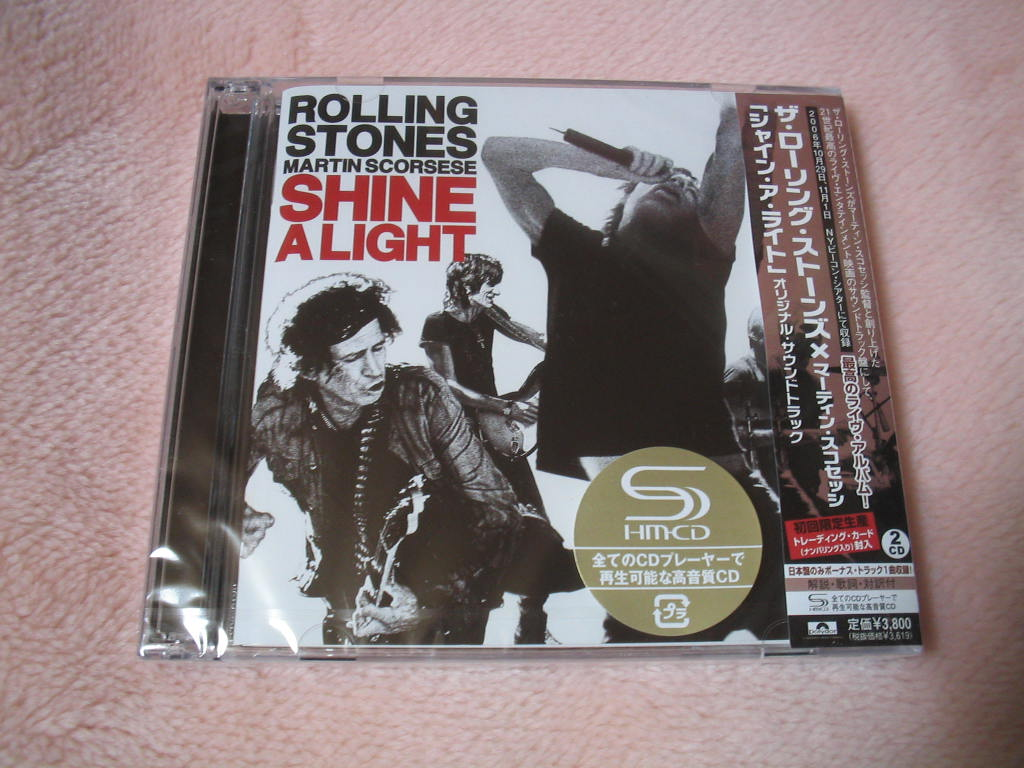 ROLLING STONES MARTIN SCORSESE / SHINE A LIGHT (SHM-CD)_c0065426_22261388.jpg