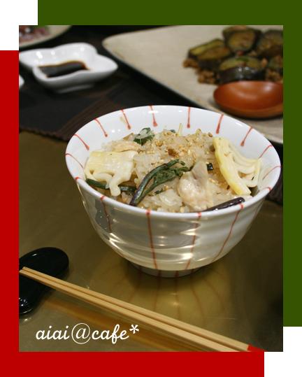 山菜おこわ_a0056451_15302431.jpg
