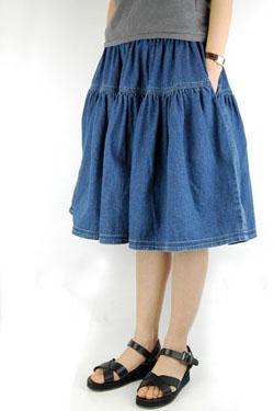 ギャザースカート☆_d0062651_19581772.jpg