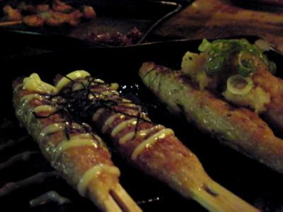 串焼き屋さん「ざっ串」に行って参りました。_d0129786_494014.jpg