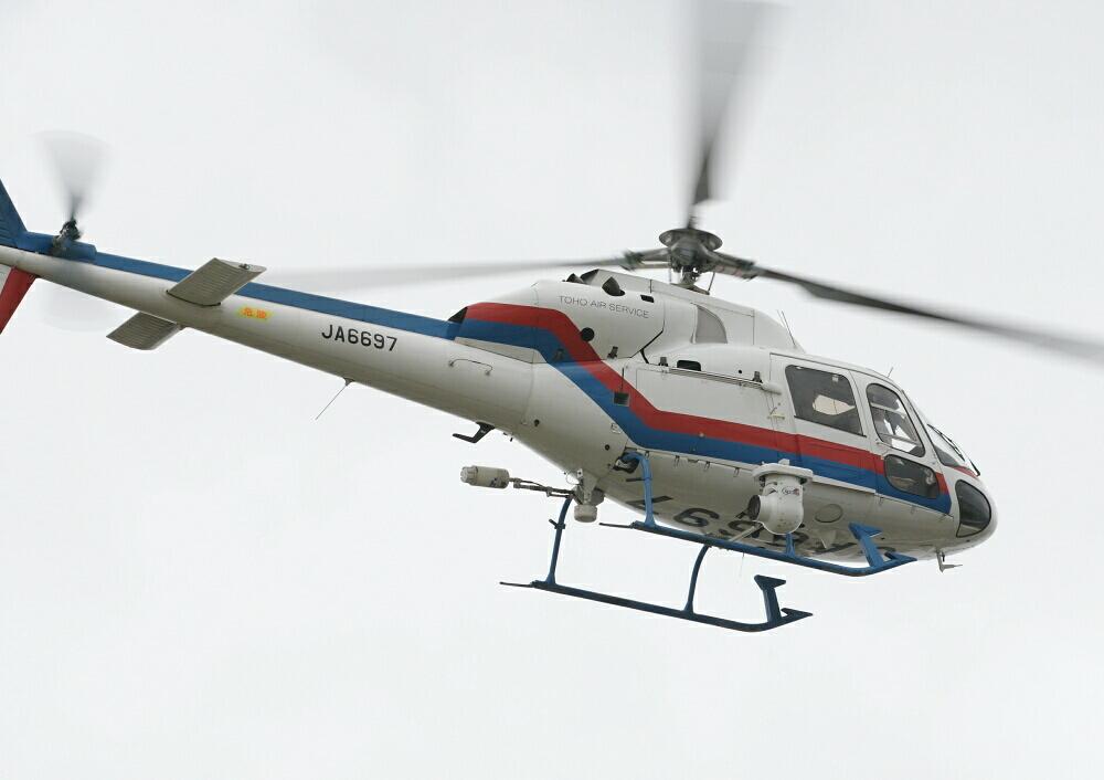 4ヵ月半ぶりの東ヘリ(その2)~JA6697/Aerospatiale AS355F2~_d0137627_0133331.jpg