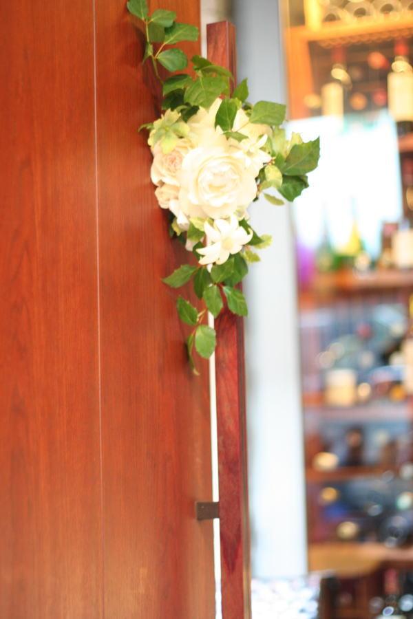 壁面装花 ドアの装花 プティブドン様_a0042928_2145177.jpg