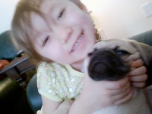 カイたんとカーメンちゃん ~Kylie & dad\'s puppy~_c0105183_0141849.jpg