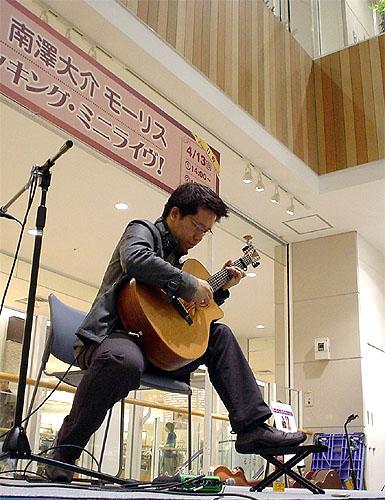 南澤大介先生のミニ・ライブ!_c0137404_23428100.jpg