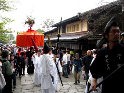 やすらい祭りー今宮神社_e0048413_2319278.jpg