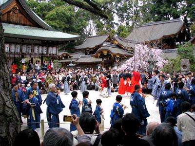 やすらい祭りー今宮神社_e0048413_23195987.jpg