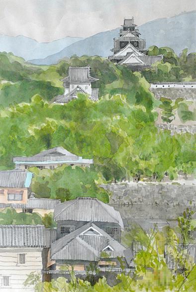 岡山城 極秘絶景ポイント_a0102098_8404538.jpg