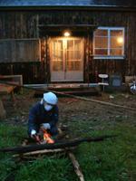 庭が材木置き場になってもーた_b0115652_224599.jpg