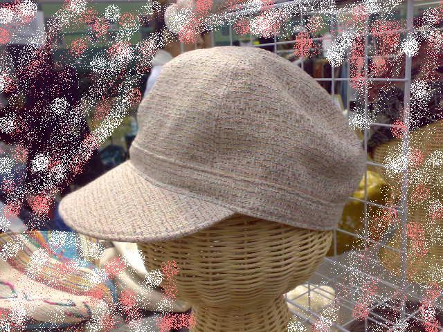 キャップ風  サマーツイード(ピンク)_d0120685_13155384.jpg